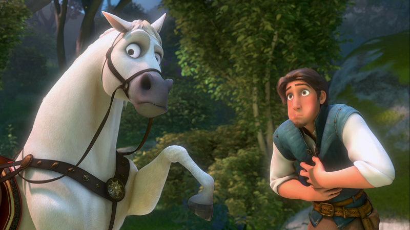 """""""Un cheval, des cheveux."""""""